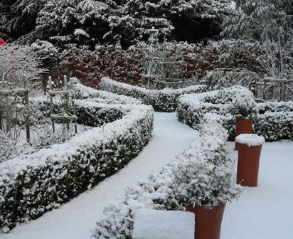 Castlebrae in snow