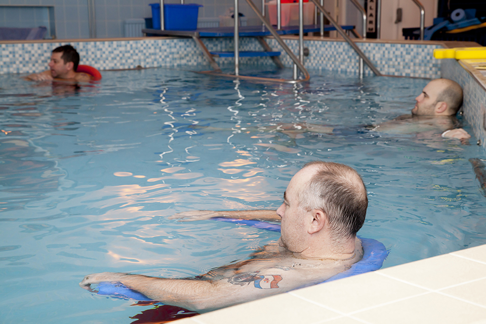 Rehabilitation in the pool