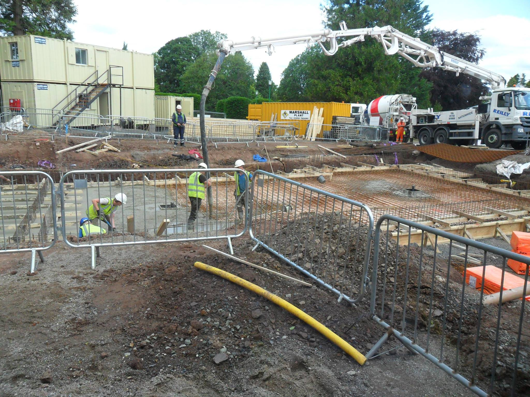 Foundation For Pools : New pool foundations