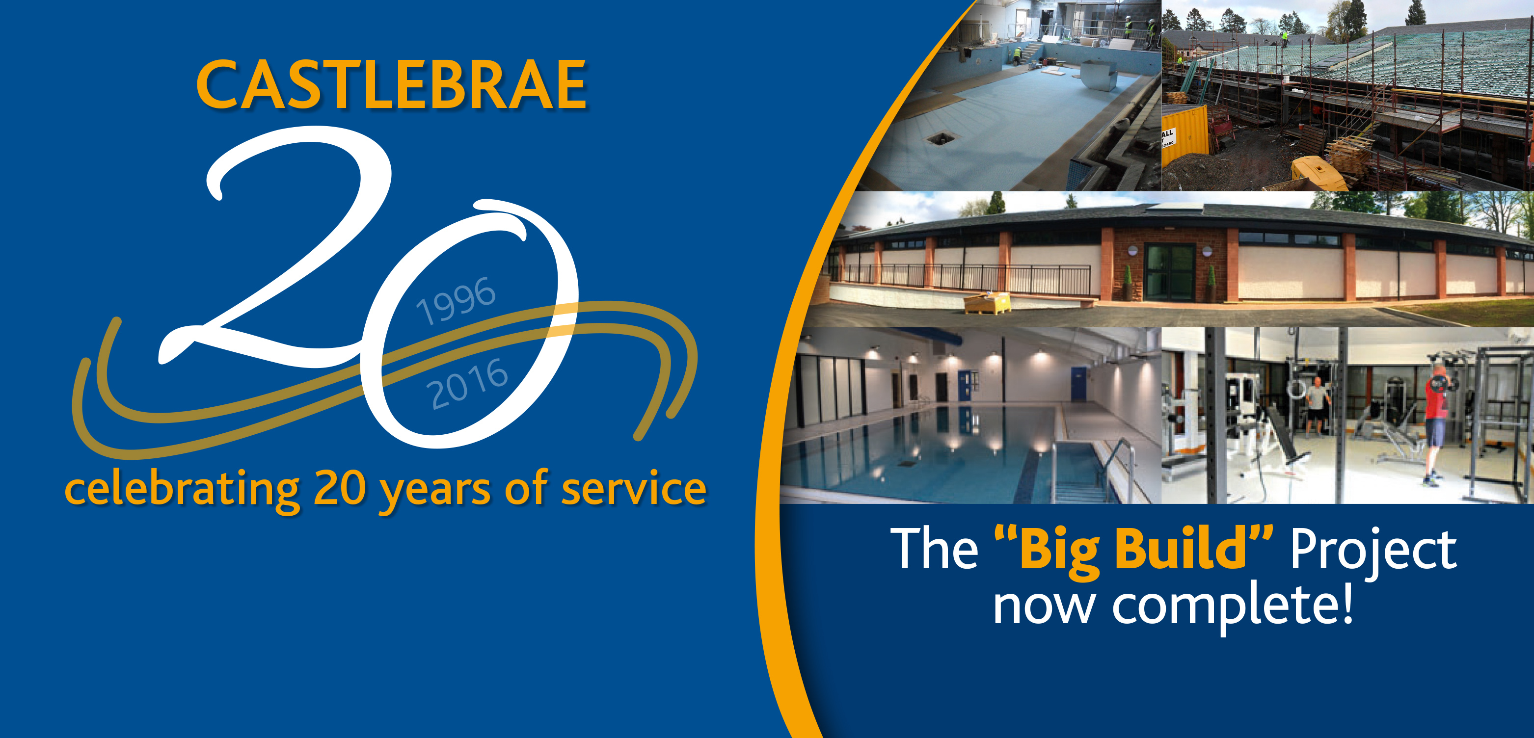 Castlebrae - 20 Years of Service