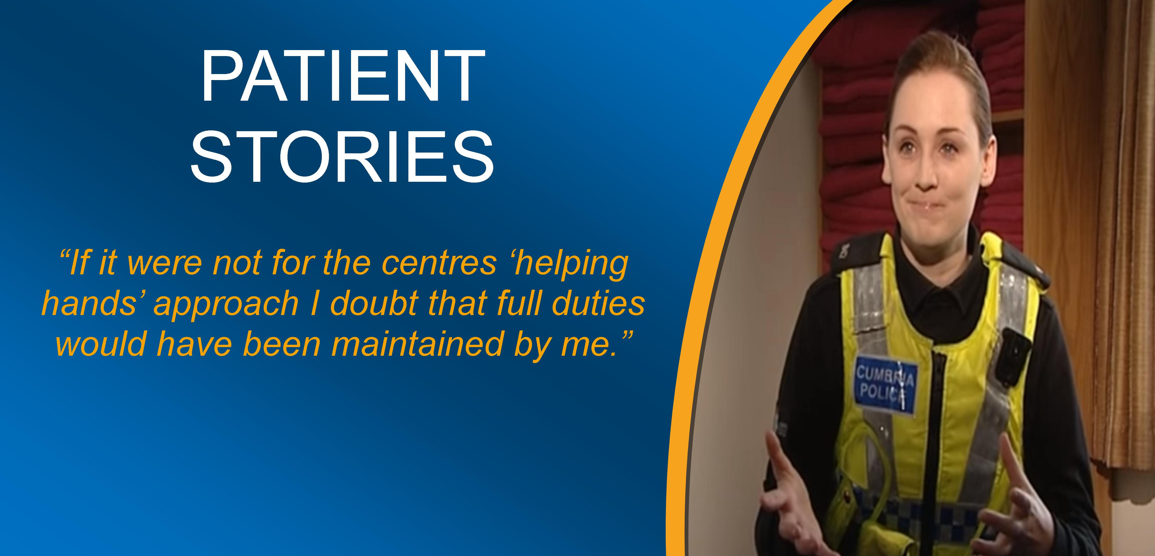 Patient Stories - View them on YouTube
